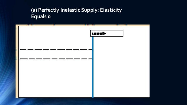 application of elasticity in economics