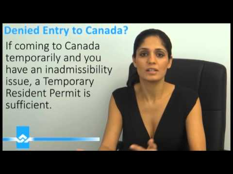 application for rehabilitation for entry into canada