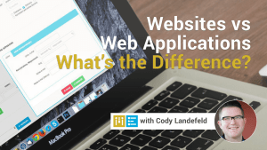 website vs web application difference