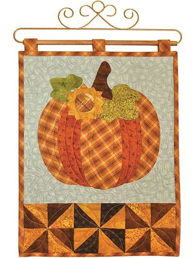 christmas applique wall hanging pattern