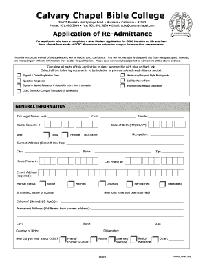 bible college application form pdf