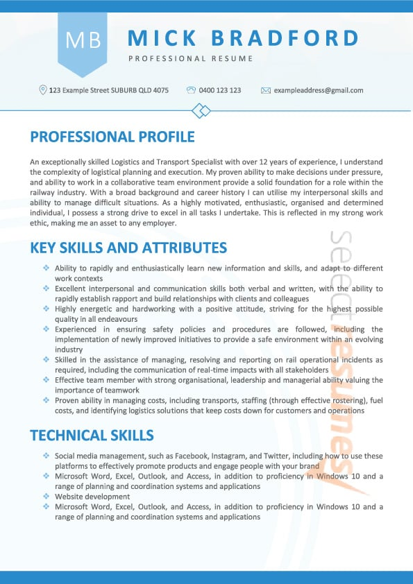 teaching assistant job application examples
