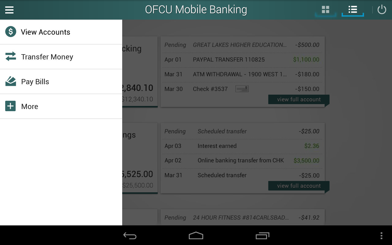 federal bank mobile application for android