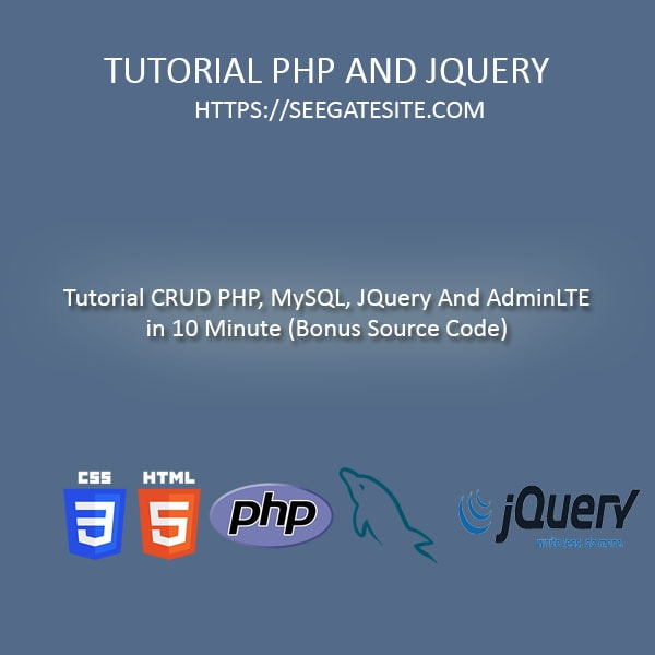 simple crud application in php