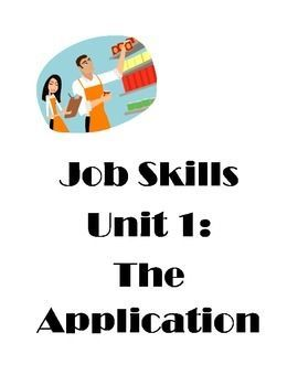 special skills and abilities for job application