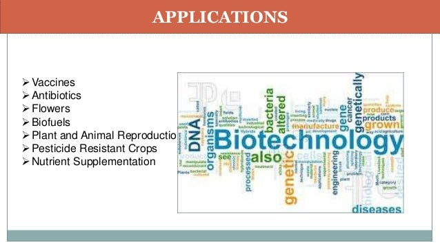 application of biotechnology in medicine ppt