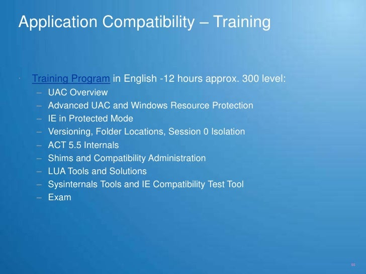 incompatible application windows 7 detected