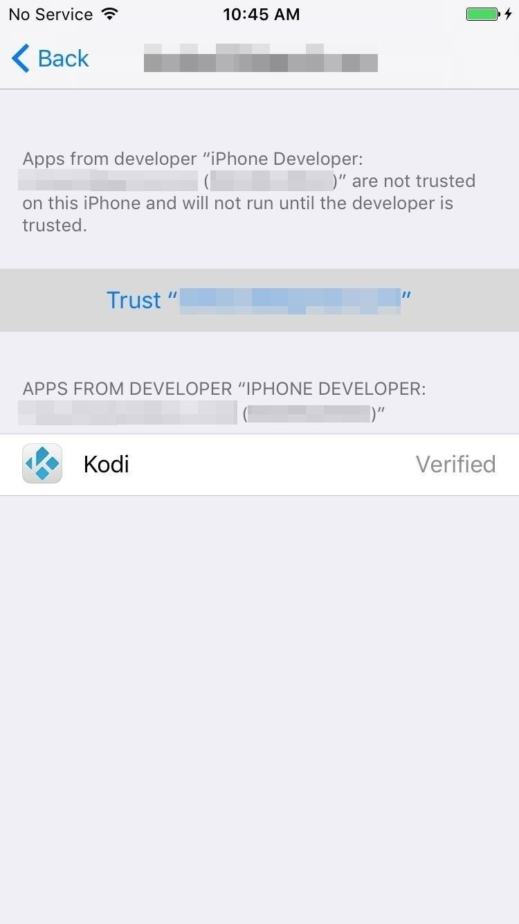 installed application is from a different account cydia impactor