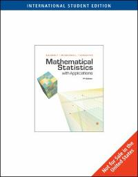 mathematical statistics with applications 7th edition solutions