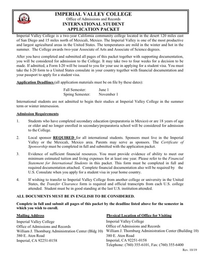 monroe college application for international students