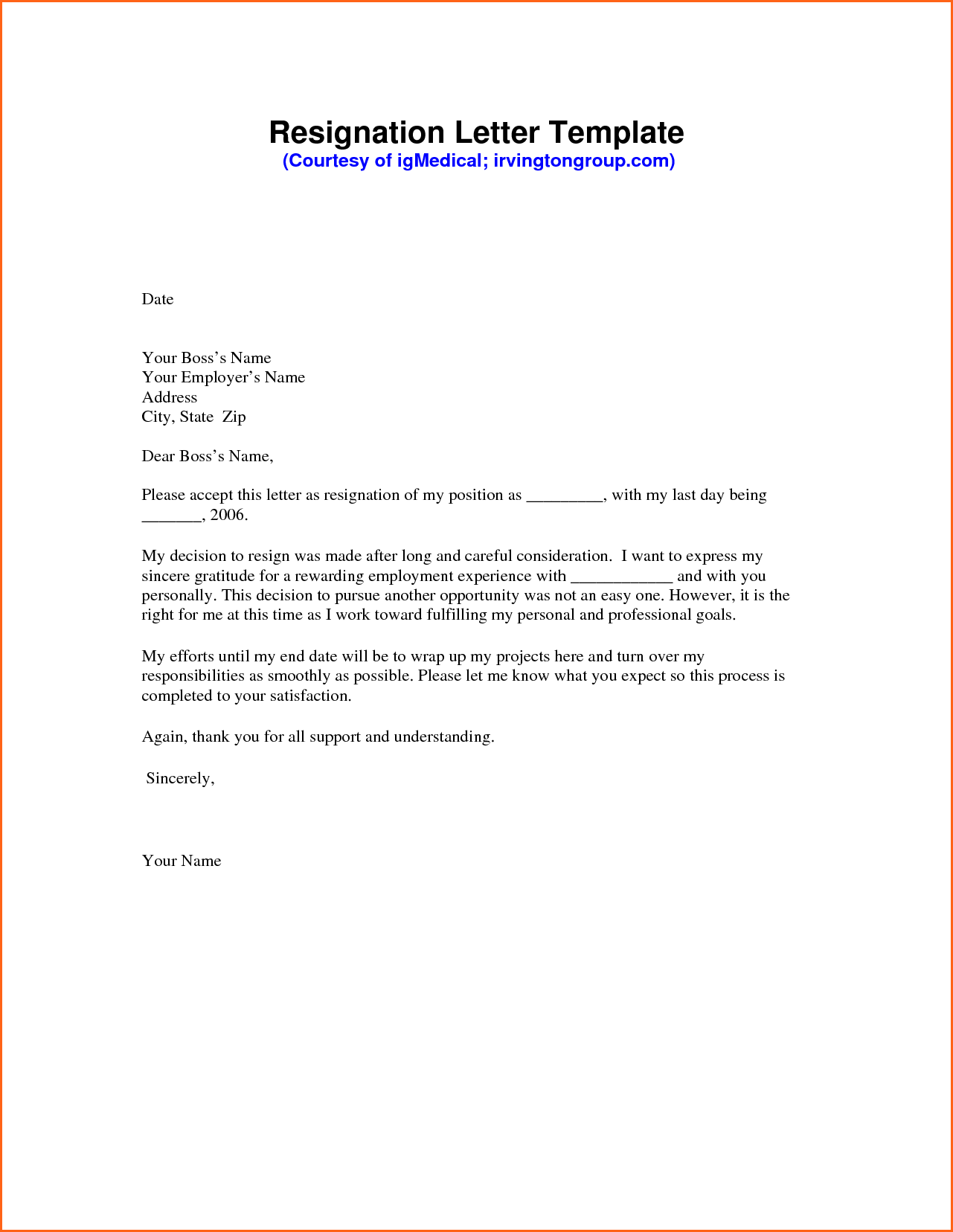 two types of application letter