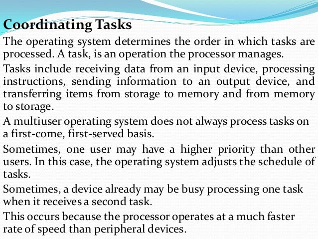 what is operating system and application software