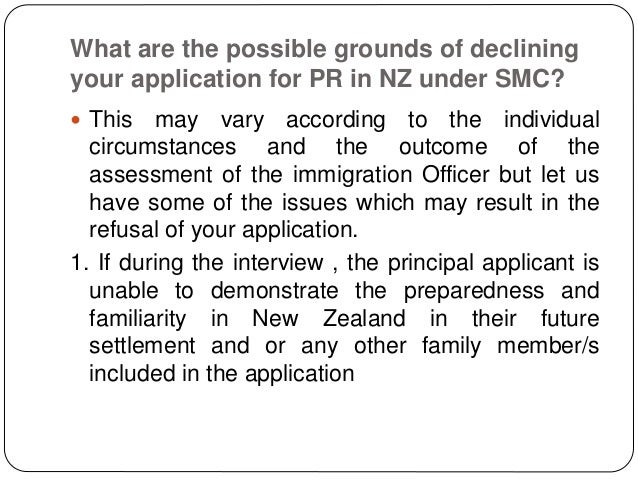 who is the principal applicant in a visa application